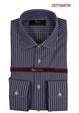Camicia Ingram Uomo slim fit, in cotone no-stiro